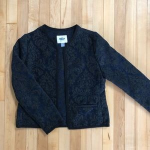 ❤️ Old Navy Brocade Jacket Size S